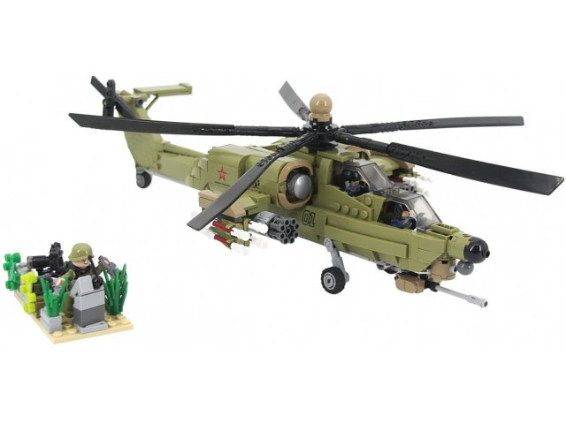 Combat Helicopter  - AR-01007